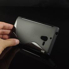 Buy Soft S-Line Wave Anti-skid TPU Gel Case Skin Sony Xperia ZL L35H C6503 C6502 C6506 / Xperia ZQ HSPA+ LTE 8 Colors Available for $1.39 in AliExpress store