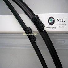 Free shipping car wiper blade for skoda superb, Soft Rubber WindShield Wiper Blade 2pcs/PAIR,VW touareg,deflector window