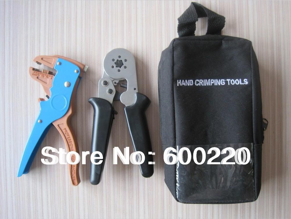 hand crimping tool kit