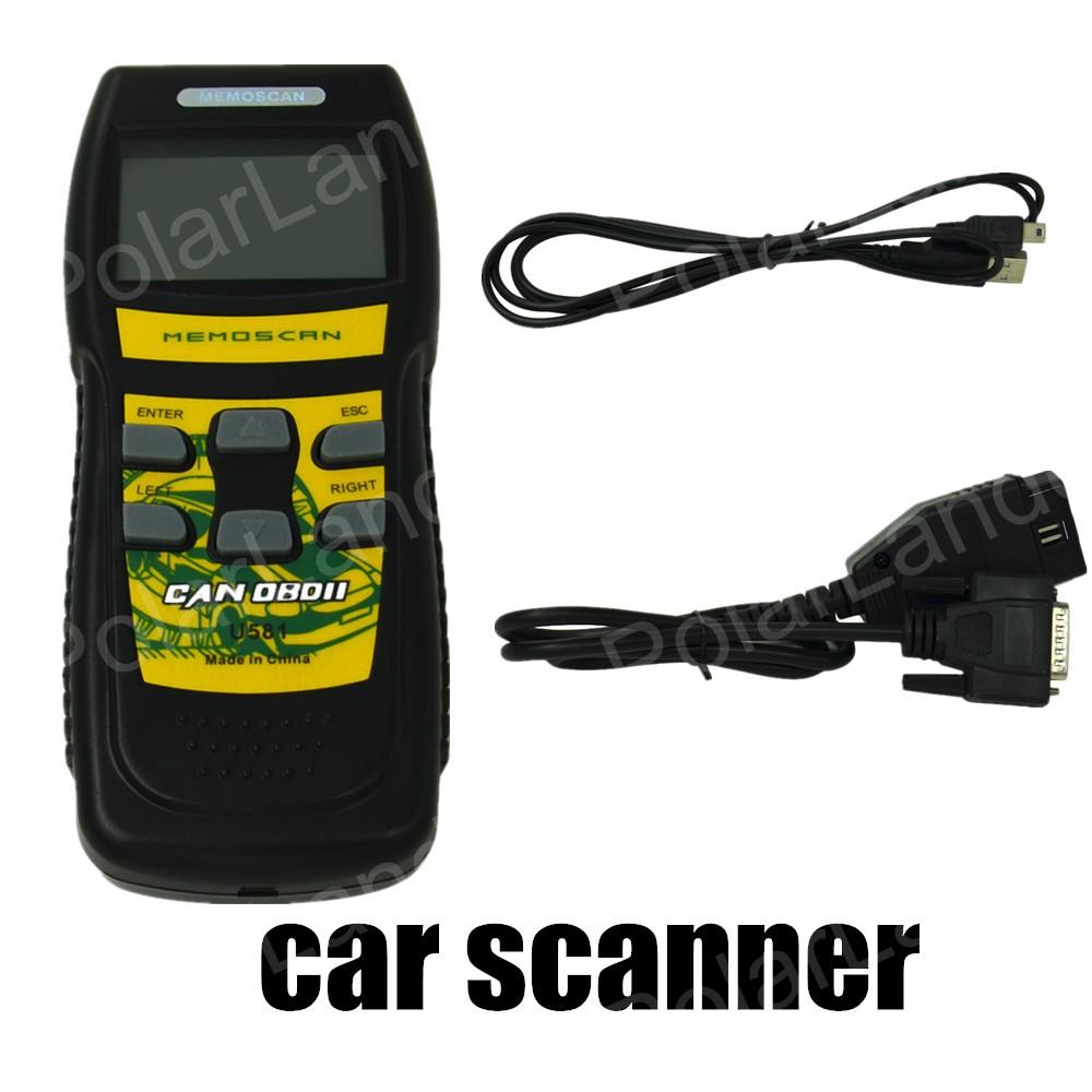 new arrival hot sale Memoscan U581 OBDII/EOBDII Fault Code Scan Tool Scanner Code Reader Car Engine Scanner Diagnostic(China (Mainland))