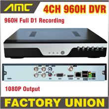 Buy New 4ch 960h CCTV DVR H.264 Recorder 4 Channel Full D1 HDMI 1080P Output Cloud P2P Windows iPhone Android View Security System for $71.99 in AliExpress store