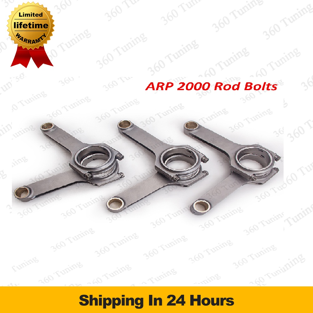 Connecting Rod Rods for Audi B5 S4 Quattro 2.7T 154mm Conrods Con Rod Rods ARP 2000 Bolt Racing Tuning Crankshaft Piston Rally(China (Mainland))