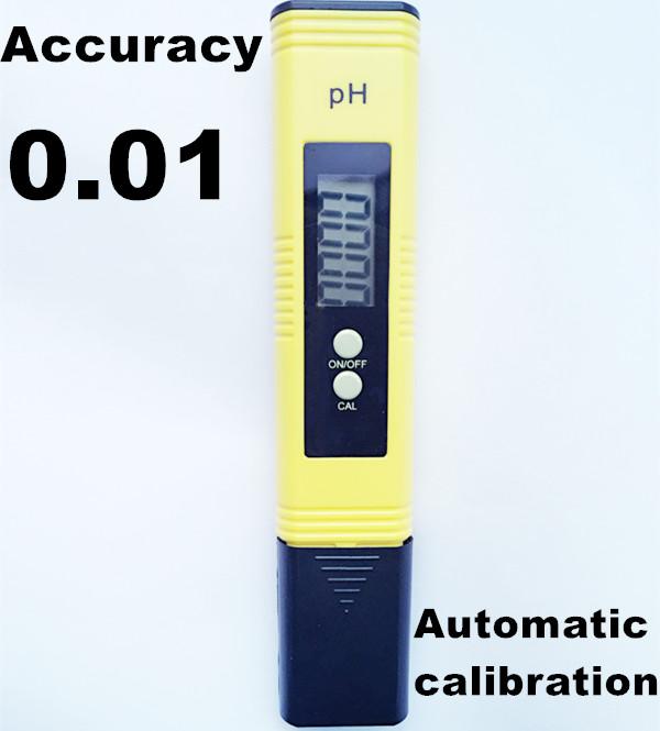 10Pcs/Lot  PH Meter accurate digital PH Meter Pen automatic calibration Aquarium PH Value Test Pen PH Tester accuracy 0.01
