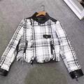 Lady Genuine Sheep Leather Jacket Women Short 100 Natural Sheepskin Leather Coat Spring Sheep Skin Female