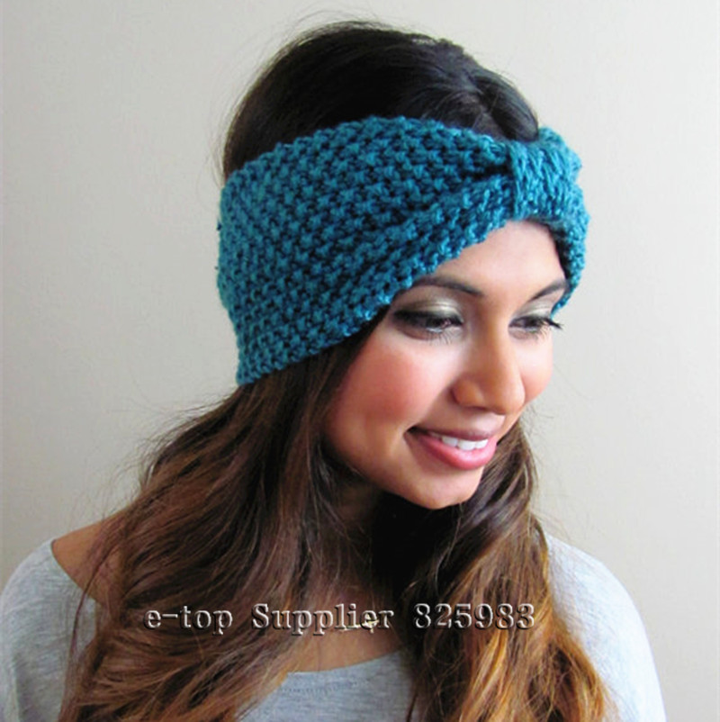 Free Crochet Pattern For Turban Headband : Gallery For > Knit Turban Headband