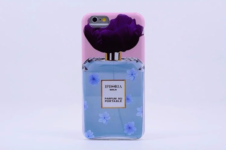 iPhoria Nail Polish Perfume Bottle Silicon Cell Phone Case For Apple iPhone 6 6s 4.7″ TPU Cover,Free Shipping