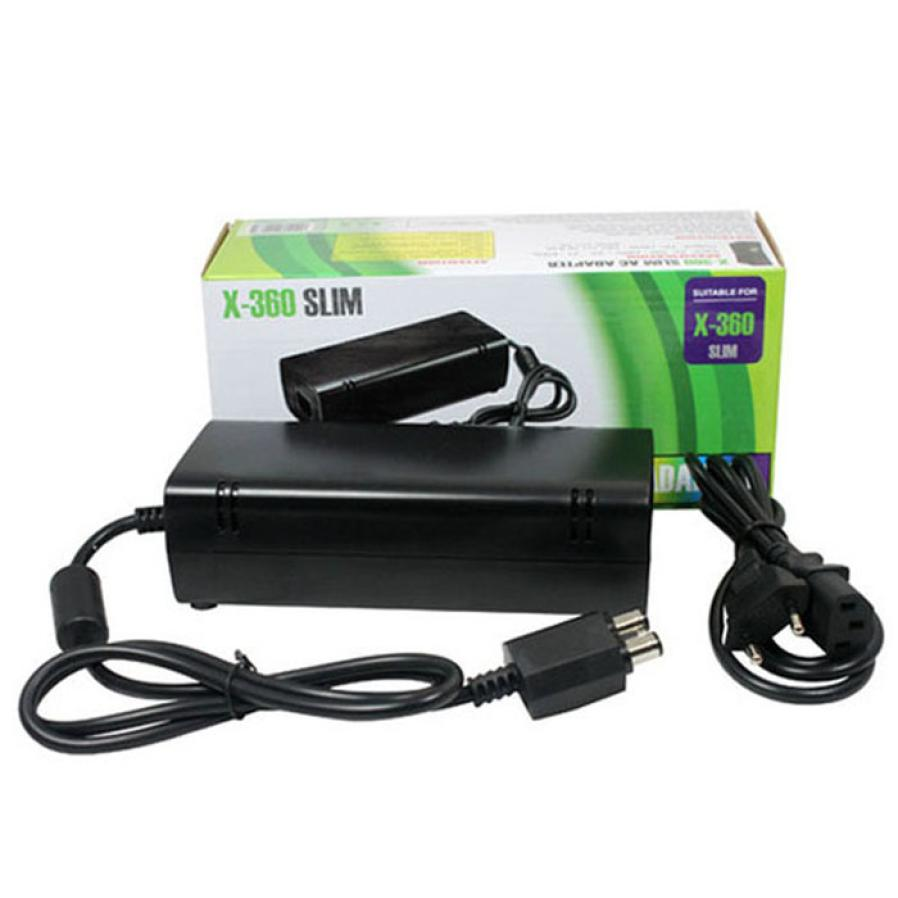 Beautiful Gift Brand New Ac Adapter Power Supply Cord Charger For Xbox 360 Slim Us Plug Black Free Shipping Feb05