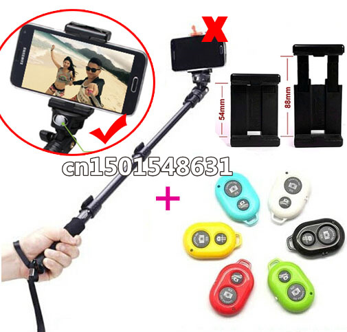 Free Shipping News Autodyne Item Monopod Holder Yunteng 188 Add Bluetooth Remote Shutter For Ios/Android Phone(China (Mainland))