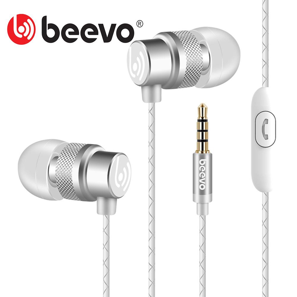 Beevo EM290 Super Bass In Ear Music Earphone auriculares With Microphone dj fone de ouvido HIFI Noise Isolating Earphone Headset(China (Mainland))