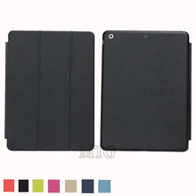 High Quality! magnetic ultra slim pu leather case for apple ipad air 1 smart cover flip thin cover for ipad 5 cases free(China (Mainland))