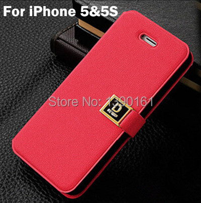 Luxury Oracle D Words Buttons Back Cover Phone Case King iPhone 5 5S Bags Cases Flip Stand Design Function - Shenzhen Chancit Technology Co., Ltd. store