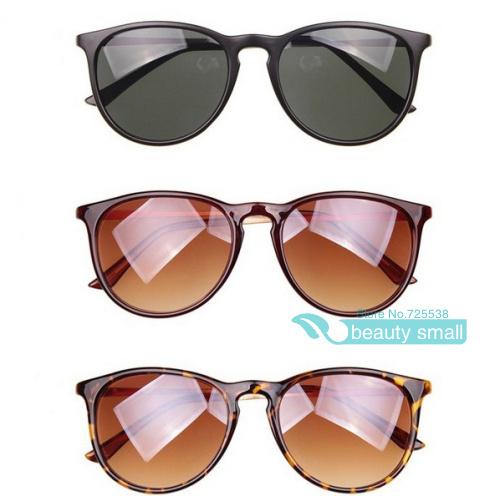 B1038 Brazil Fashion New Cat Eye Sunglasses Women Vintage Black Round Shades Gafas Cool Sunglasses Men oculos de sol 13 Colors(China (Mainland))