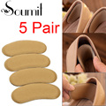 Soumit 5 Pairs 10 Pcs Sponge Sticky Shoe Back Heel Adhesive Thick Insoles Heel Inserts Pads