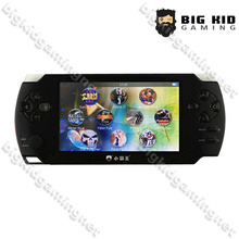 Support Download 8/32 Bit Games 4.3 inch 8GB HD TV Out Players Touch Screen Handheld Game Player(China (Mainland))