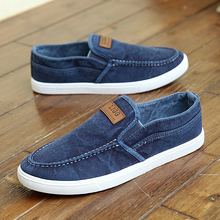 free delivery  Autumn and winter cotton-made shoes Men  beijing shoes pedal men's canvas yeezy lounged shoes thermal