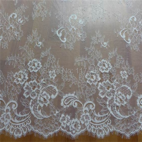 Buy wholesale price off white thin for Wedding dress fabric stores