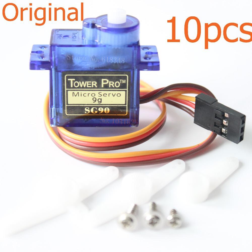Buy 10 X Towerpro Sg90 9g Upgraded Metal Gear Digital Servos Mg90s Mini Micro Servo Motor Rc