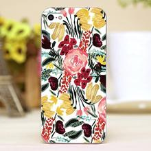 Wild Garden oil painting Design transparent case cover cell mobile phone cases for Apple iphone 6 6plus hard shell