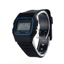 Excellent Quality New Brand Men's Sport Watches New Silicone Rubber Strap Retro Vintage Digital Watch Boys Girls Mens&Womens