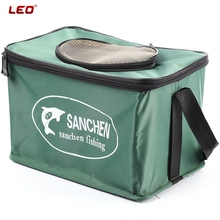LEO Folding Live Fish BOX Plastic Carp Rod Bucket Water Tank Water Box Bag Container Bucket Fishing Tackle Accessories(China (Mainland))