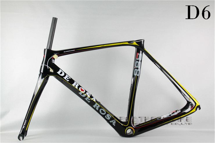 frame carbon DeRosa Superking 888 D6 carbon frame T1000 road bikes carbon fibre complete carbon racing bike frame De rosa 888(China (Mainland))