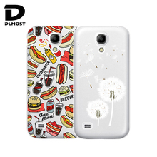 TPU Soft Case For Samsung Galaxy S4 Mini i9190 Transparent Silicone Printing Drawing Phone Cases Cover For Samsung Galaxy S4mini(China (Mainland))