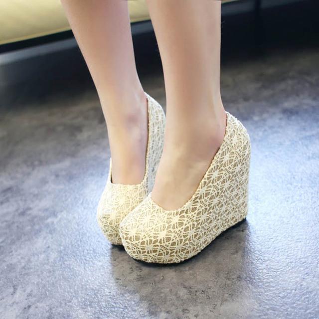 Drop Spring/Summer Platform Women Pumps Fashion Waterproof Lady High Heel Shoes Sexy Nightclub Girl Shoe 1 Pair/PC Free Shipping