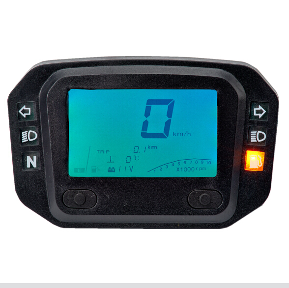 Motorcycle tachometer for different wheel size and displacement(China (Mainland))