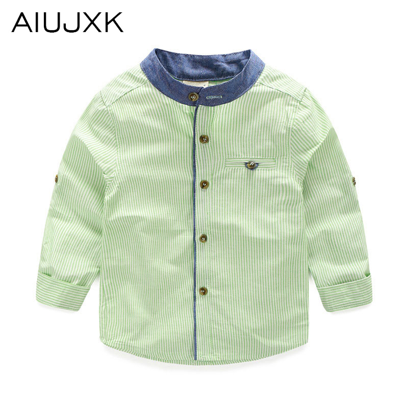 2016 Spring New Boy Collar Shirt Cozy School Boys Blouse Children'S Cotton Boys Casual Shirt OUMU67(China (Mainland))