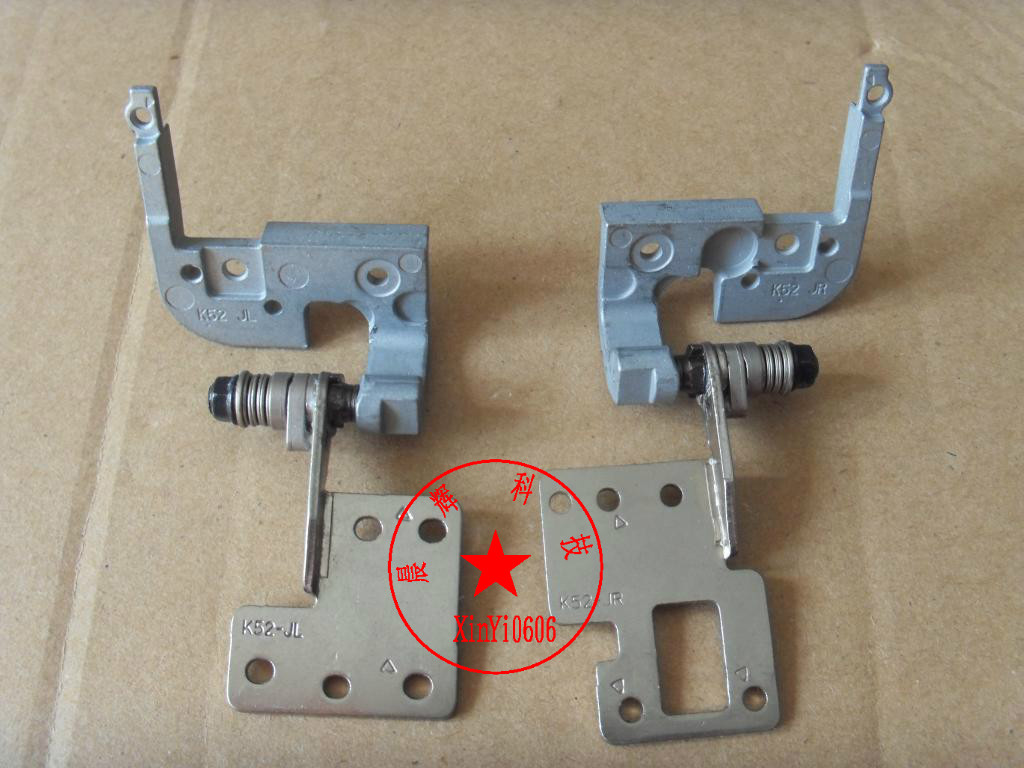 brand new for ASUS ASUS K52 K52D K52F K52N K52J A52 X52 laptop screen hinges(China (Mainland))