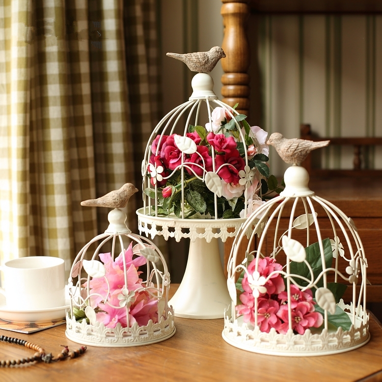 Popular antique decorative bird cages buy cheap antique decorative bird cages - Decoration cage oiseau ...
