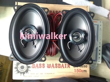 "2pcs=1pair=1lot 4""x6""size 2-wayspeaker car High bass coaxial audio speakers for chery QQ cowin Santana Scio Pailiao spark AVEO(China (Mainland))"
