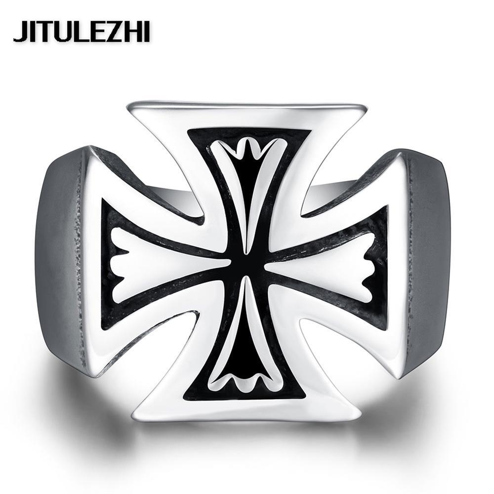 Stainless steel ornaments - Stainless Steel Finger Ring For Lovers Unisex Jewelry Anelli Donna Hip Hop Style Trendy Christmas