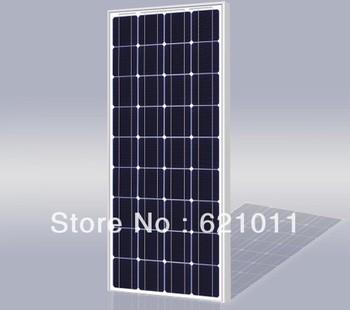 80W pv modules, mono crystalline solar cell panel, solar modules for 12v solar street light and portable solar system