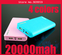 2013 Newest Wallet style With LED Lighting function 20000mAh Power Bank External Battery Pack