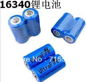free ship 200pcs/lot lifepo4 lithium rechargeable battery factory direct sale 3v 1350mah(China (Mainland))