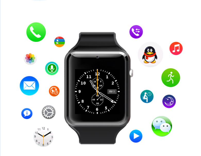 Smart Watch Phone Camera Video Record Waterproof Q8 Smartwatch GSM SIM Card Wearable Device Bluetooth G-sensor NFC Sedentary(China (Mainland))