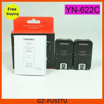 Yongnuo YN-622C Wireless TTL Flash Trigger 1/8000s Flash Radio for Canon Camera