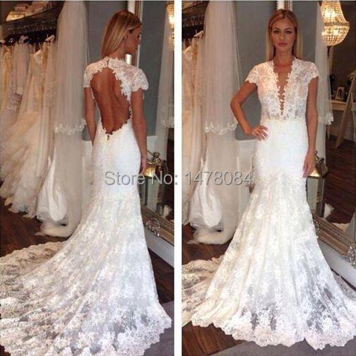 2015 beautiful mermaid trumpet wedding dresses sexy big for Big beautiful wedding dresses