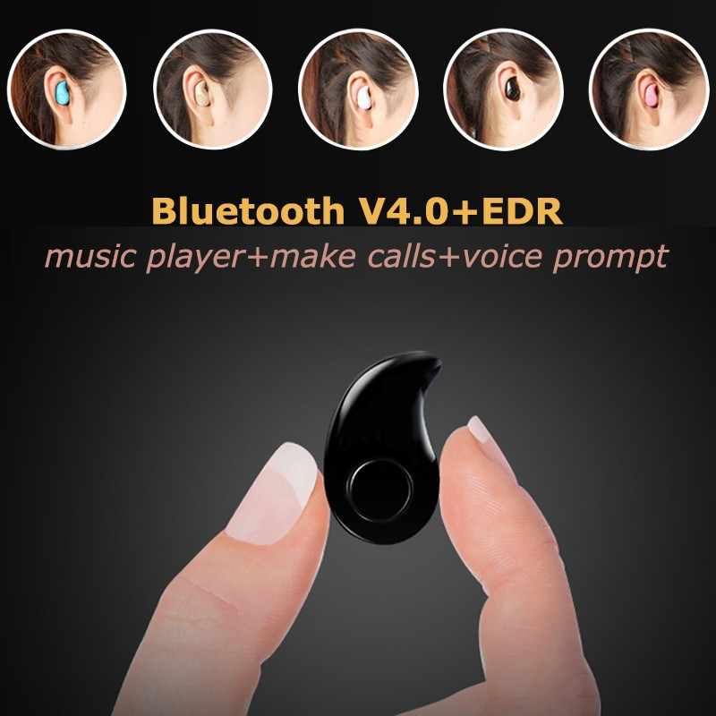 Mini Style Wireless Bluetooth Earphone S530 V4.1 Sport Headphone Phone Bluetooth Headset With Micro Phone For Iphone Phone PC