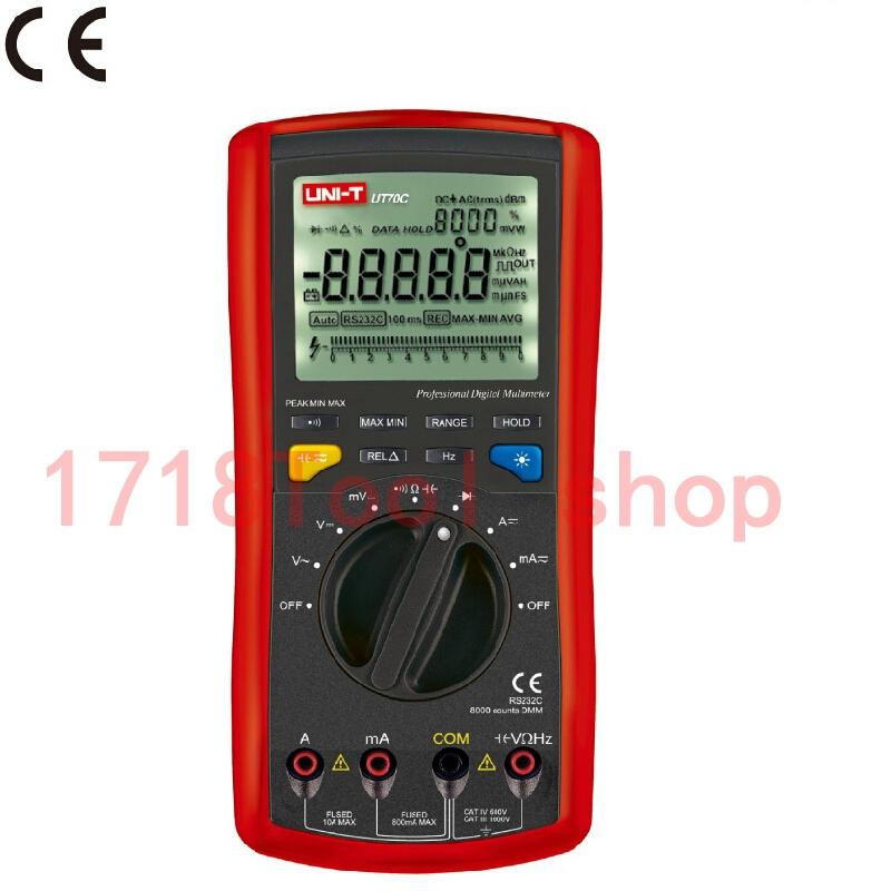 Europe United States sell like hot cakes UNI-T UT70C Modern Digital Multi-Purpose Meter(China (Mainland))