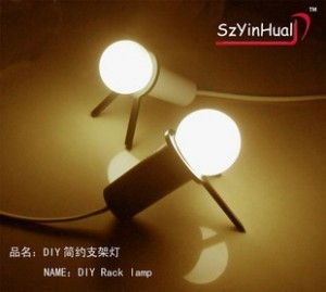 Derlook silver high quality product photoswitchable fully-automatic diy brief mount small night light lilliputian lamp
