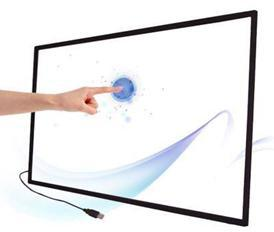 USB 2 points IR touch screen frame 46 inch Infrared multi touch screen overlay Windows 7/8/XP Android touch screen