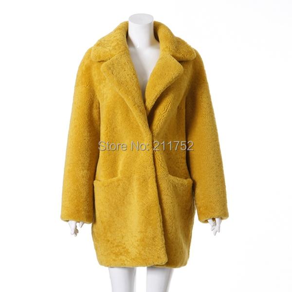 New Arrival 100% Natural Merino Sheep Fur Coat Real Australian Wool Greatcoat Long Winter Overcoat Одежда и ак�е��уары<br><br><br>Aliexpress