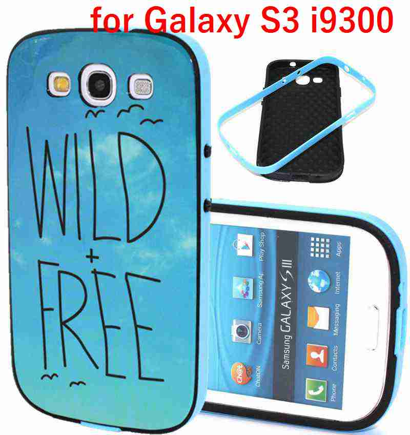 """For Samsung Galaxy S3 i9300 Cell Phone Case """"Wild Free"""" Style Protective Housing Back Cover New 2016(China (Mainland))"""