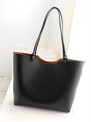 New 2015 Women Handbags Large Tote Bags Women Leather Shoulder Bags Composite Bags Casual Style(China (Mainland))