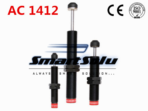 free shipping 1pcs AC1412 M14x1.5 Pneumatic Hydraulic Shock Absorber Damper 12mm stroke(China (Mainland))