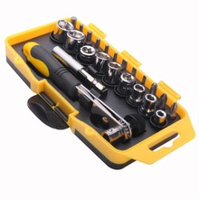Precise Screwdriver Repair Smartphone Tools 23 Pcs Kits For Phone PC iPad Laptop EN3807(China (Mainland))
