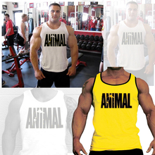Men sexy cotton gym tank top men Sleeveless tops bodybuilding clothing Sport vest fitness Big Size