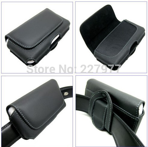 Leather Portable CASE/BAG/COVER NEW For Apple iPhone3G 3GS Leather Case Belt Clip Pouch Cover Skin(China (Mainland))